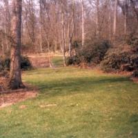 Pavillion surroundings 1986