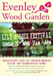 Evenley Wood Garden - Lily & Rose Festival - 25th June 2017
